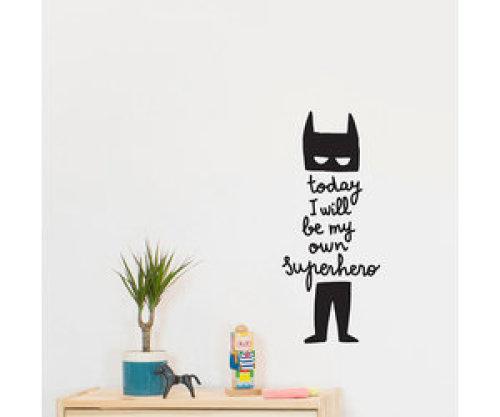 Muursticker Superhero - Chispum