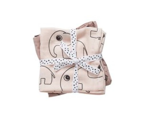 Done by Deer swaddle (2-pak) - Contour Powder 120x120