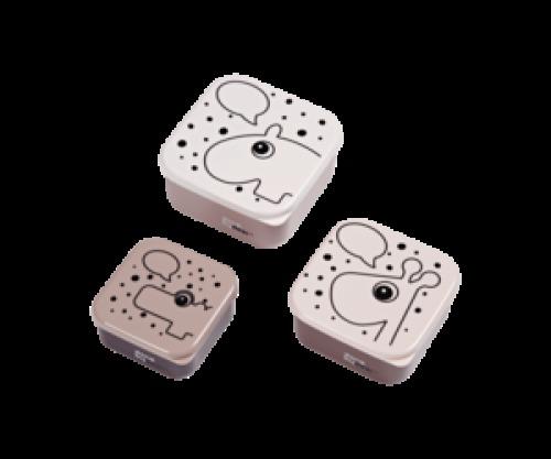 Set 3 Snackdoosjes Roze - Done by Deer
