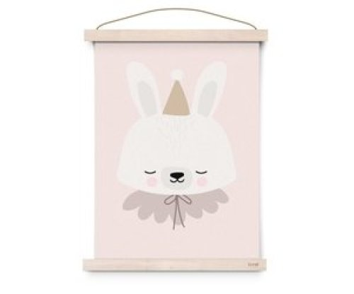 Eef Lillemor poster Circus Bunny - A3