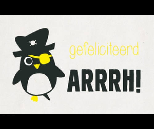 Kaartje Pinguïn - verjaardag