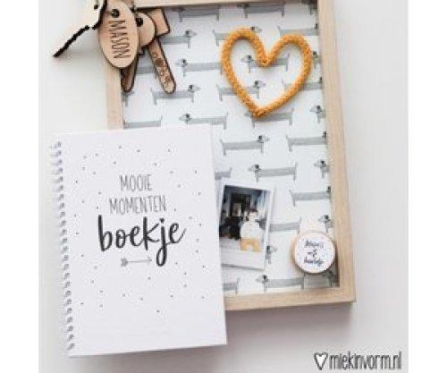 Mooie Momenten Boekje - MIEKinvorm