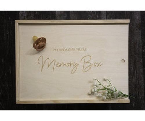 Memorybox 'My Wonder Years' - Minimou