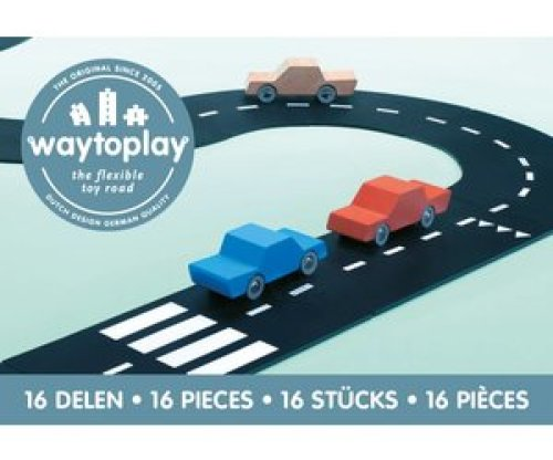 Way to Play - Autoweg (16 stuks)