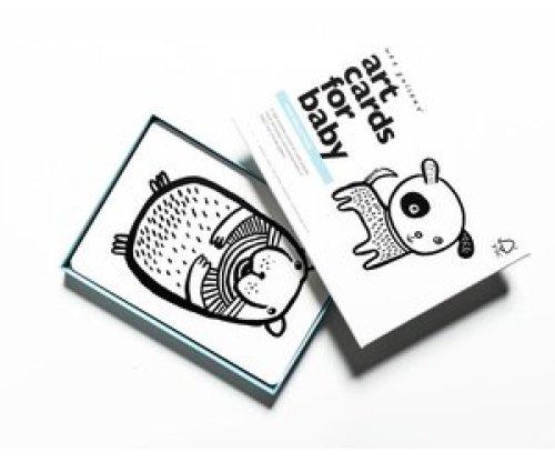 Wee Gallery Art Cards - Huisdieren