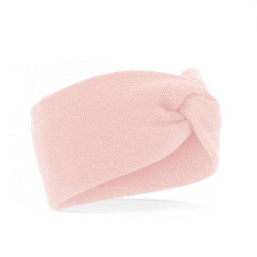 Twist headband / Soft pink - Vrouwen