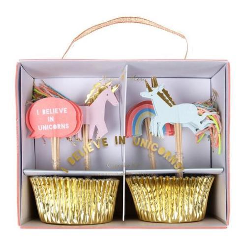 Cupcake 'Unicorn' - Meri Meri