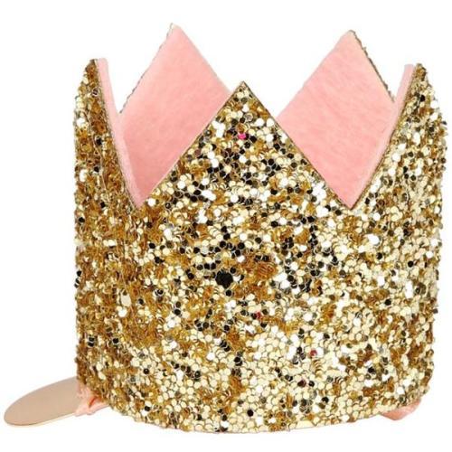 Hair clip 'Golden crown' - Meri Meri
