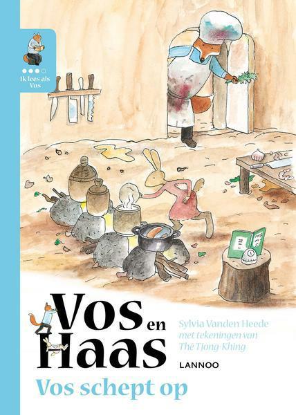 Ik leer lezen met Vos en Haas - Ik lees als Vos - Vos schept op -  Sylvia Vanden Heede