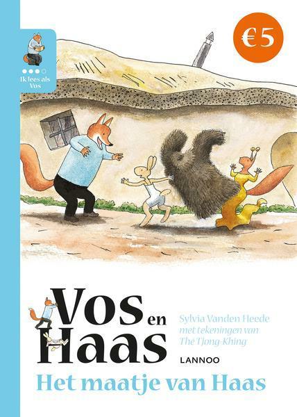 Ik leer lezen met Vos en Haas - Ik lees als Vos - Het maatje van Haas   Sylvia Vanden Heede