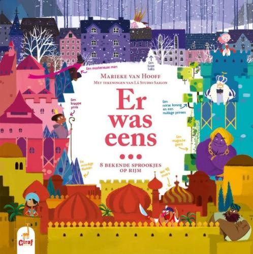 Er was eens ... 8 bekende sprookjes op rijm - Marieke van Hooff