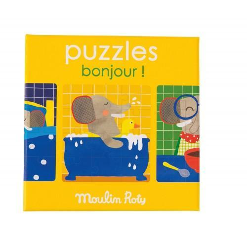 Puzzel 'Goede dag' - Moulin Roty
