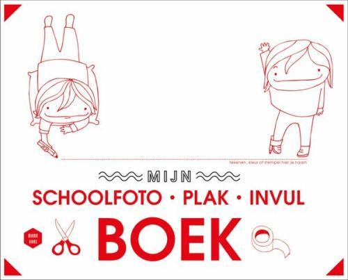 Mijn schoolfoto- plak- invulboek - L. De Vilder, E. Thyssen