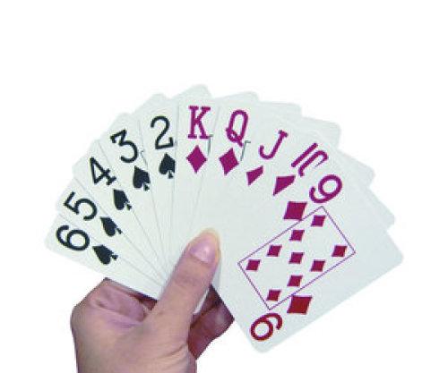ABLE2 Speelkaarten met extra grote opdruk
