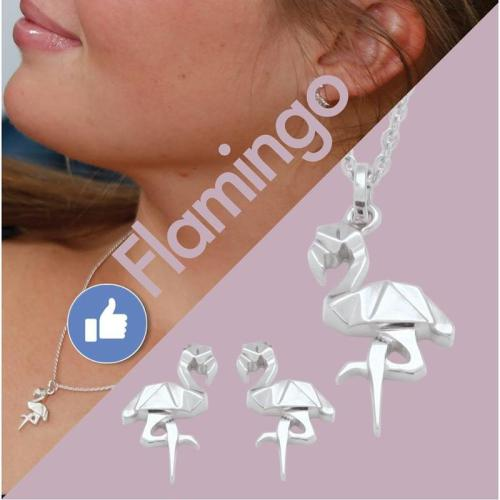Halsketting / Flamingo