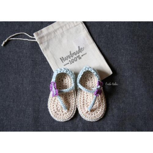 Babyschoen / Gehaakte sandaal