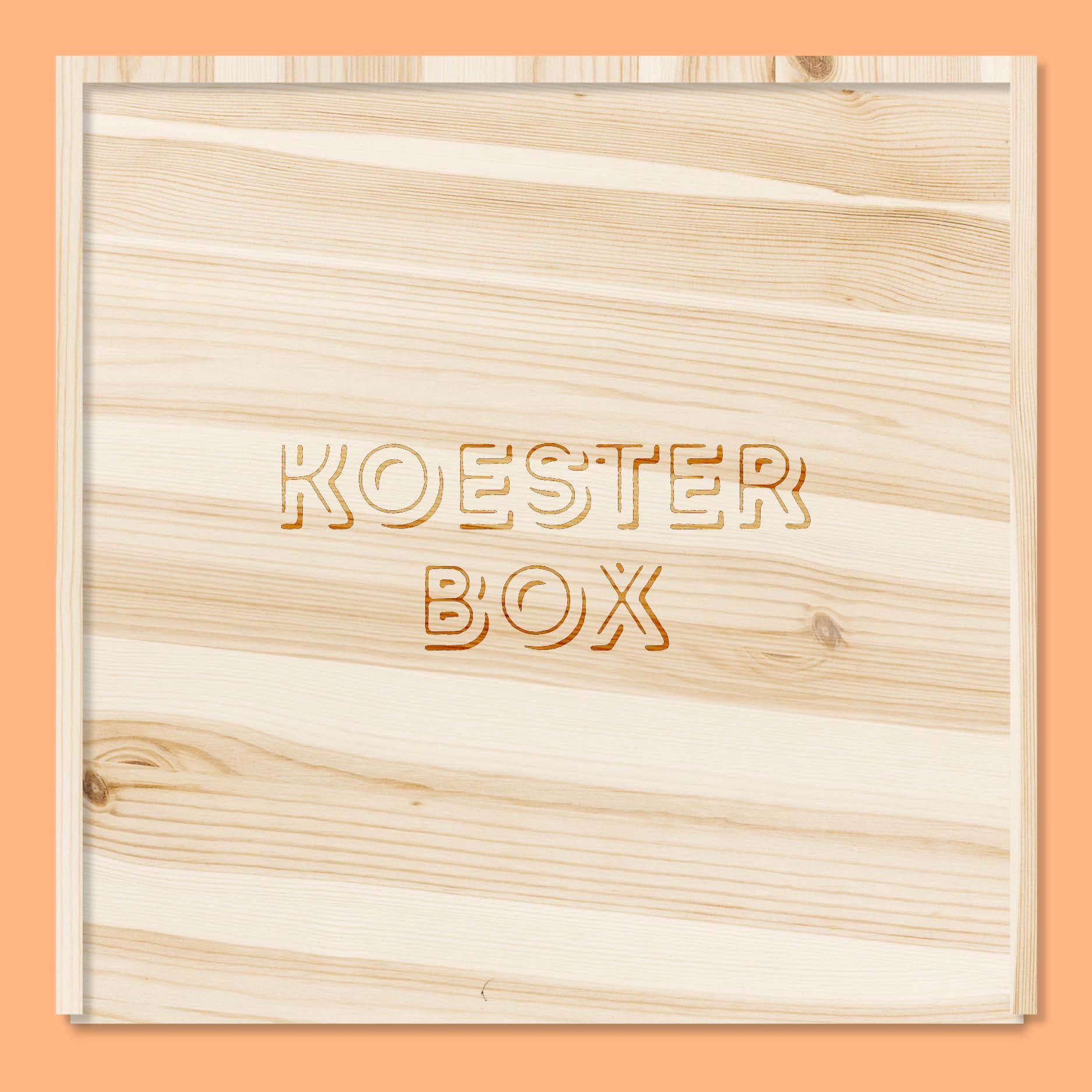 Koesterbox // houten doos