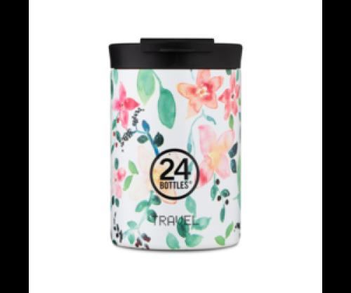 Travel tumbler koffiebeker - Little buds 350 ml