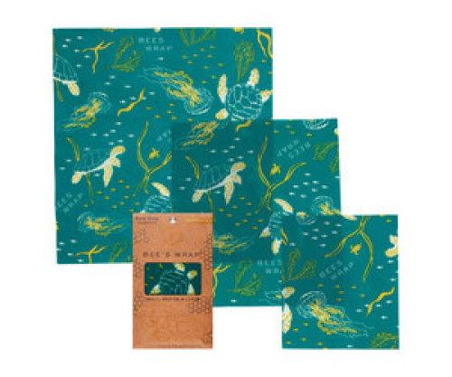 Bee's wrap - Assorted Ocean (set of 3)