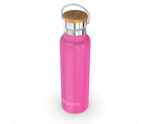 Montii thermische drinkbus - 600 ml pink