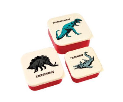 Snackdoosjes (set van 3) - Prehistoric land