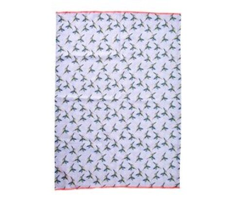 Keukenhanddoek/theedoek katoen - Hummingbird