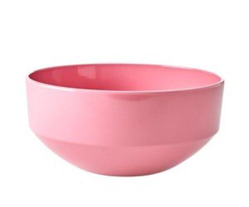 X-large Melamine saladekom - Dark pink