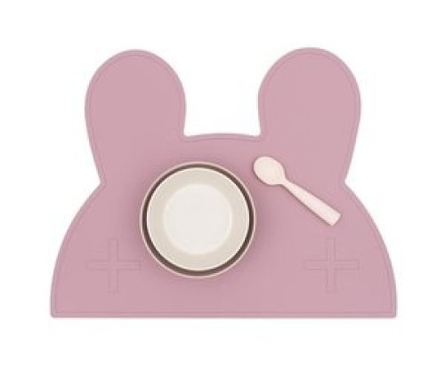 Placemat bunny - Dusty rose