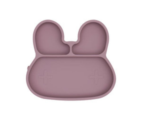 Sticky plate bunny - Dusty rose