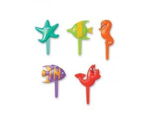 Zeedieren prikkers - 5 stuks