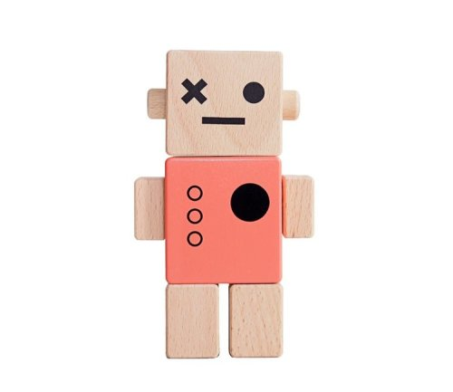 Baby Robot - Coral