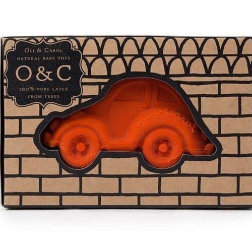 Oli&Carol badspeeltje auto oranje