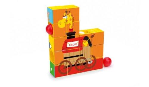 Puzzel en Roller Coaster Circus