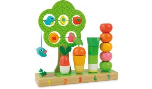 Ik leer tellen met groenten Vilac