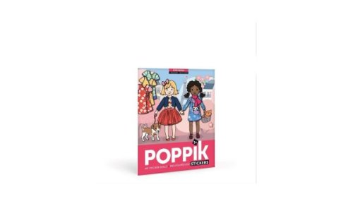 Poppik Sticker Poster Meisjesmode