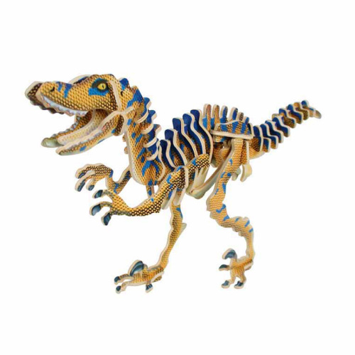 Bouw je eigen 3D dinoskelet - Velociraptor