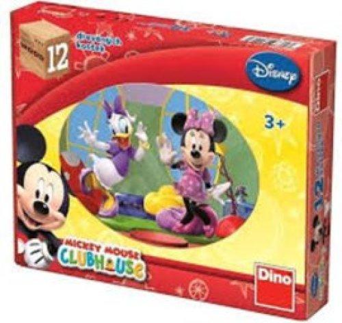 Mickey Mouse & Friends Houten Blokpuzzel