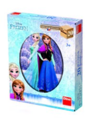 Frozen houten blokpuzzel (20 stuks, 6-in-1 puzzel)
