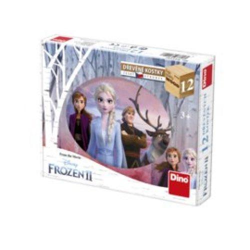 Frozen 2 Houten Blokpuzzel