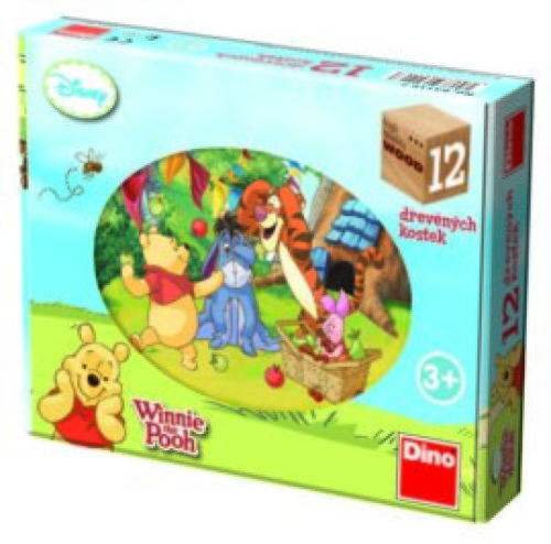 Winnie the Pooh Houten Blokpuzzel