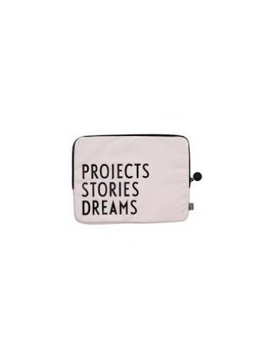 Design Letters - Laptop coat Projects Stories Dreams (34*26cm)