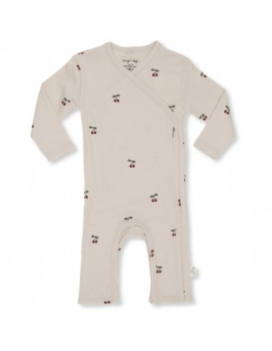 Konges Slojd - Newborn Onesie|Cherry/Blush