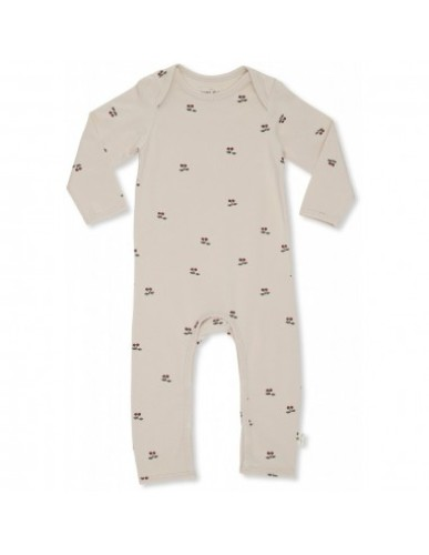 Konges Slojd - Onesie Hygsoft Playsuit|Cherry/Blush