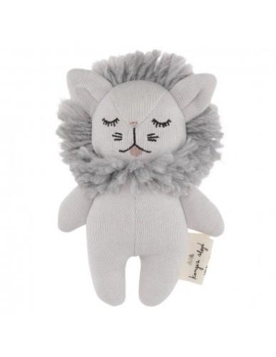 Konges slojd - Rammelaar/knuffel mini lion