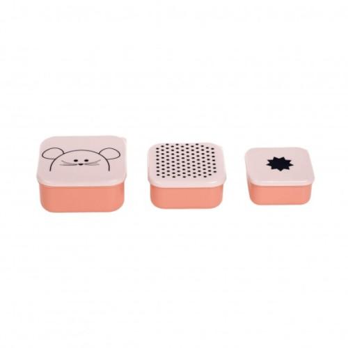Lässig - Snackbox Set|Little Chums Mouse