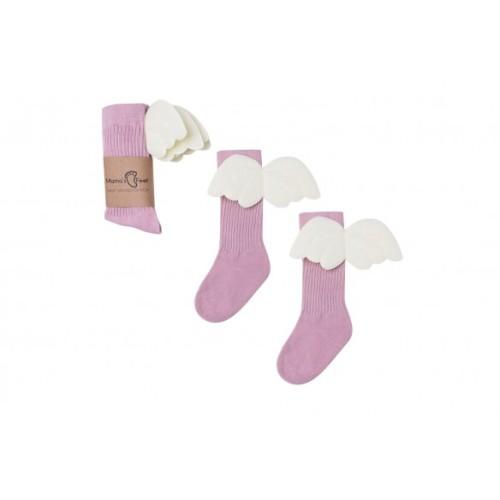 Mama's Feet - Kniesokken Angel Roze