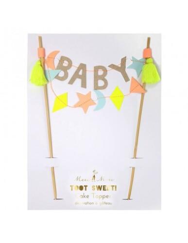 Meri Meri - Cake Topper Baby