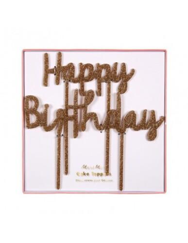 Meri Meri - Cake Topper Happy Birthday