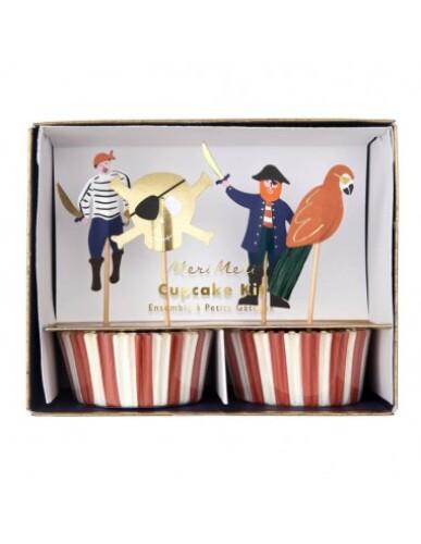 Meri Meri - Cupcake Kit Piraten