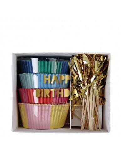 Meri Meri - Cupcake Kit ' Happy Birthday '